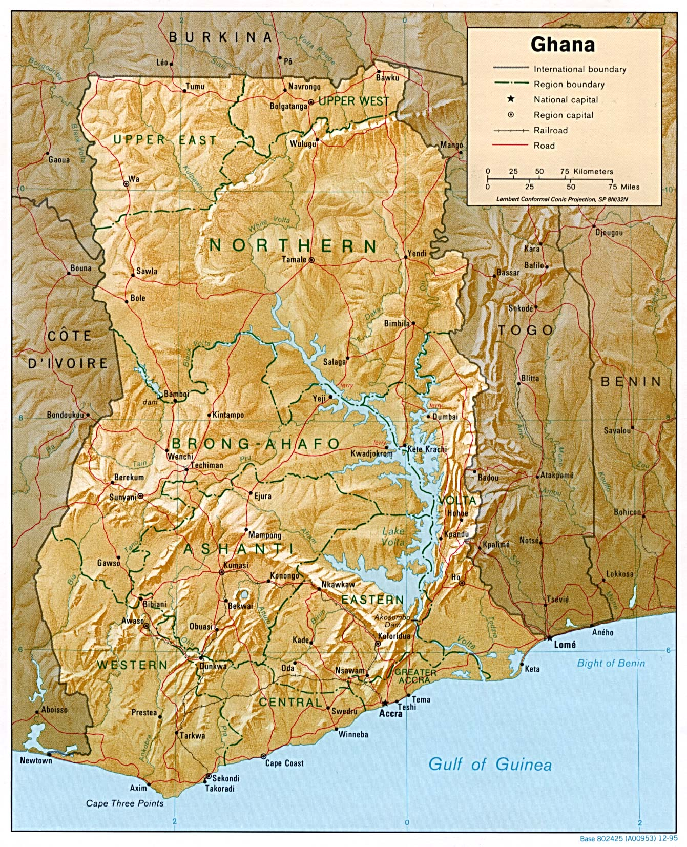 carte du GHAN